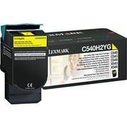 Lexmark Yellow Toner Cartridge (C540H2YG), High Yield