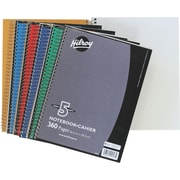 "Hilroy 5-Subject Notebook, 10-1/2"" x 8"", Assorted, 360 Pages"