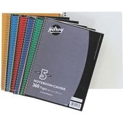 Hilroy - Cahier de notes 5 sujets, 10-1/2 po x 8 po, variés,  360 pages,