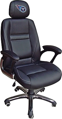 Wild Sports NFL Leather Executive Chair, Tennessee Titans