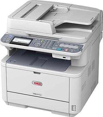 Oki MB471W Mono Laser All-in-One Printer (62438703)