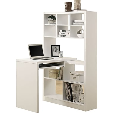 Monarch Hollow Core Left Or Right Facing Corner Desk White