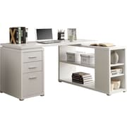 Monarch® HollowCore Left or Right Facing Corner Desk, White
