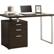 "Monarch® Hollow-Core Left or Right Facing 48"" L Desk, Cappuccino"