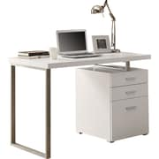 "Monarch® Hollow-Core Left or Right Facing 48"" L Desk, White"