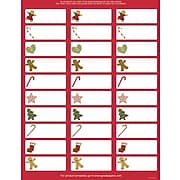 Great Papers® Holiday Card Address Labels Ginger Friends, 150/Count