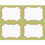 Great Papers­­® Peppermint Twist 4-Up Postcards