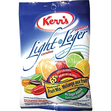 Kerr's Light Candies, Fruit Mix - No Sugar Added