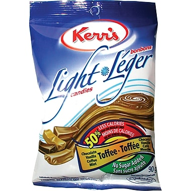 Kerr's Light Candies, Assorted Toffee - No Sugar Added