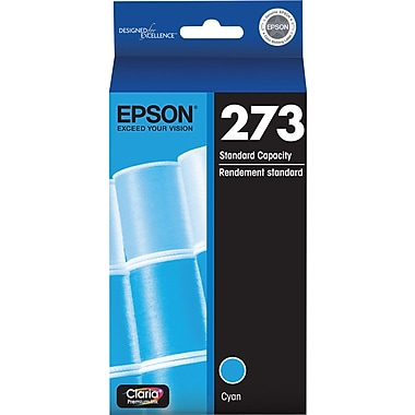 EPSON 273 Cyan Ink Cartridge (T273220-S)