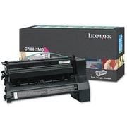 Lexmark Magenta Toner Cartridge (C780H4MG), High Yield, Return Program
