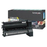 Lexmark Yellow Toner Cartridge (C780H4YG), High Yield, Return Program