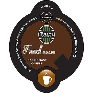Keurig® Vue® Pack Tully's® French Roast Coffee, Regular, 16/Pack