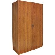 Kendrick Wardrobe Storage Closet, American Cherry