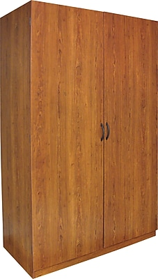 Ameriwood® Large Storage Wardrobe, Bank Alder