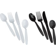 Staples Heavy Duty Plastic Cutlery