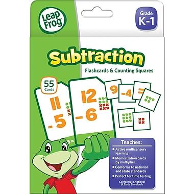 LeapFrog Flash Cards, Subtraction, Grades K-4 (19416UA-24)