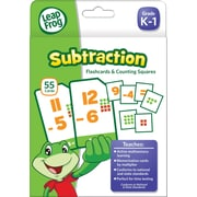 LeapFrog Flash Cards, Subtraction, Grades K-4 (19416UA-24)