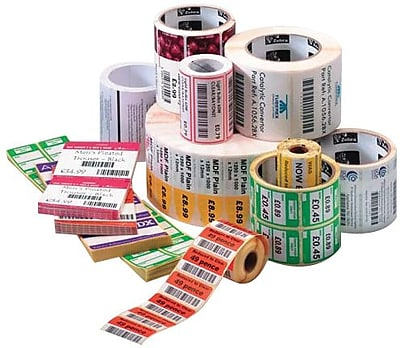 Zebra® Z-Select® 800274-155 4000T Paper Thermal Transfer Label for Barcode Printers, 4