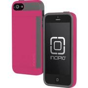 Incipio Side Stowaway Case for iPhone 5, Pink