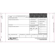 """TOPS™ W-2 Tax Form, 4 Part, White, 10 1/4"""" x 5 1/2"""", 100 Forms/Pack"""
