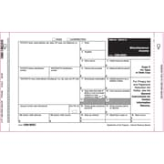 "TOPS® 1099MISC Tax Form, 2 Part Mailer, White, 9"" x 5 1/2"", 100 Forms/Pack"