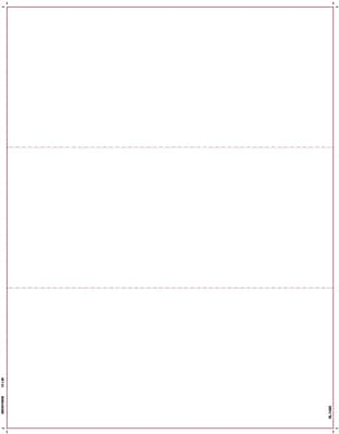 TOPS® W2 OR 1099 Blank Front and Back Tax Form, 1 Part, White, 8 1/2