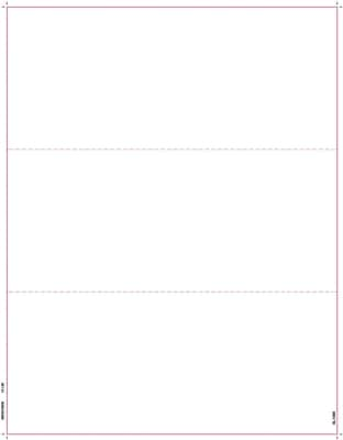 TOPS® W-2 or 1099 Blank Front and Back Tax Form, 1 Part, White, 8 1/2