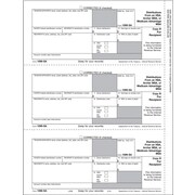 "TOPS® 1099SA Tax Form, 1 Part, Recipient - Copy B, White, 8 1/2"" x 11"", 50 Sheets/Pack"
