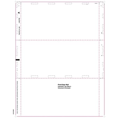 TOPS® 1099MISC Tax Form, 1 Part, Cut Sheet Blank w/Backer, White, 8 1/2
