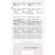"TOPS® W-2 Tax Form, 1 Part, Cut Sheet, White, 8 1/2"" x 11"", 50 Sheets Per Pack"