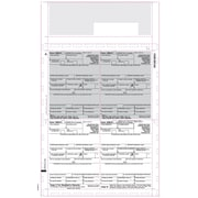 """TOPS® 1099R Tax Form, 1 Part, Cut Sheet, White, 8 1/2"""" x 14"""", 500 Sheets/Pack"""