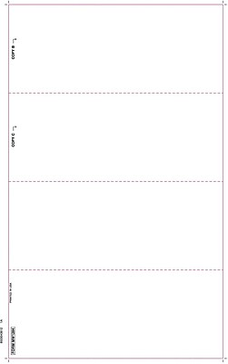TOPS® W-2 Tax Form, 1 Part, White, 8 1/2 x 14