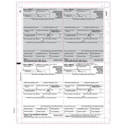 """TOPS® 1099R Tax Form, 1 Part, Cut Sheet, White, 8 1/2"""" x 11"""", 500 Sheets/Pack"""