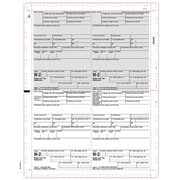 "TOPS® W2 Tax Form, 1 Part, White, 8 1/2"" x 11"", 500 Sheets/Pack"