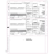 "TOPS® 1099MISC Tax Form, 1 Part, Cut Sheet, White, 8 1/2"" x 11"", 500 Sheets/Pack"
