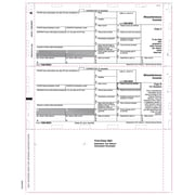"TOPS® 1098MISC Tax Form, 1 Part, White, 9 1/2"" x 11"", 2000 Forms/Carton"