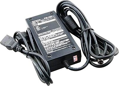 Epson E65069 External Power Adapter, 100/240 V AC, Black