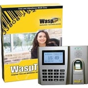 Wasp ® 633808550356 Biometric Time Clock, Easy-to-install and Scalable