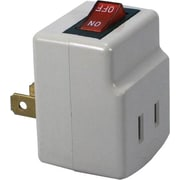 QVS® Single Port Power Adapter, 2 Prong