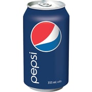 Pepsi Cola, 355 mL Cans, 24-Pack