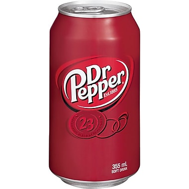 Dr. Pepper - Cannettes de 355 ml, paq./12