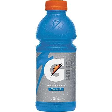 Gatorade – Perform, bleu cool, bouteilles de 591 ml, paq./12