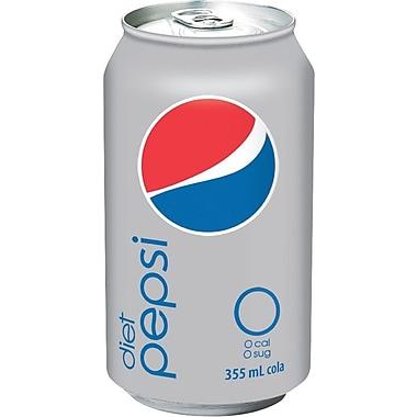 Pepsi diète - Cola diète, cannettes de 355 ml, paq./24