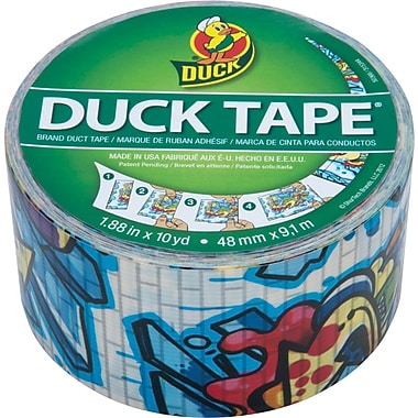 Duck Tape® Brand Duct Tape, Graffiti, 1.88