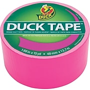 """Duck Tape® Brand Duct Tape, Funky Flamingo X-Factor™, 1.88"""" x 15 Yards"""