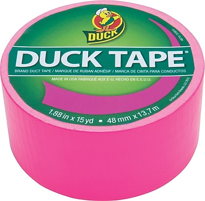 Duck Tape® Brand Duct Tape, Funky Flamingo X-Factor™, 1.88