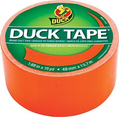 Duck Tape® Brand Duct Tape, Blaze Orange X-Factor™, 1.88