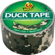 "Duck Tape® Brand Duct Tape, Digital Camo, 1.88"" x 10 Yards"