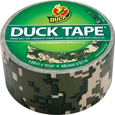 Duck Tape® Brand Duct Tape, Digital Camo, 1.88
